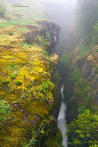 Slot Canyon in Mt. Rainier NP