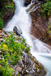 Cascade along North Cascades Hwy