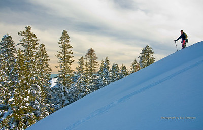 Heading Down from Andesite