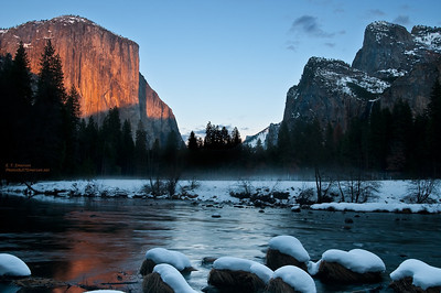 Sunset Light on El Capitan