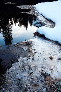 Ice Formations and Reflection