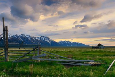 Mormon Ranch in Grand Tetons