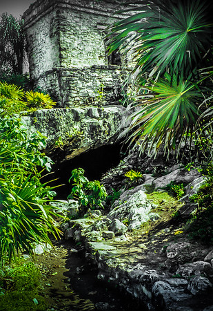 Mayan Ruins in Tulum, Yucatan, Mexico
