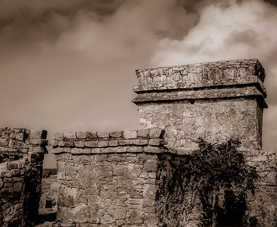Mayan Ruins in Tulum, Yucatan