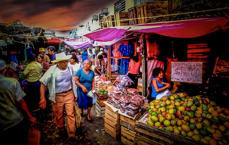 Street Market in Merída, Mexico