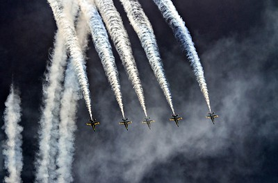 Angels Descending, 2014 US Navy Air Show