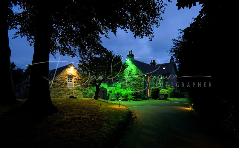 photo coverage of craigatin bed and breakfast b&b pitlochry perthshire