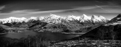 Five Sisters bw
