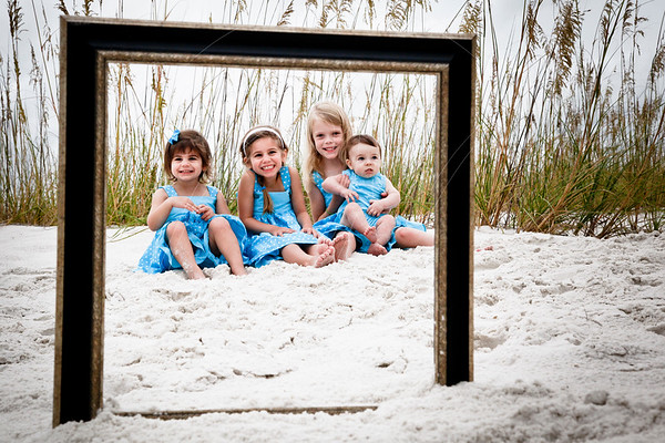 Pensacola Beach Family Portrait