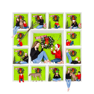 Holiday In-The-Box Photo Grid