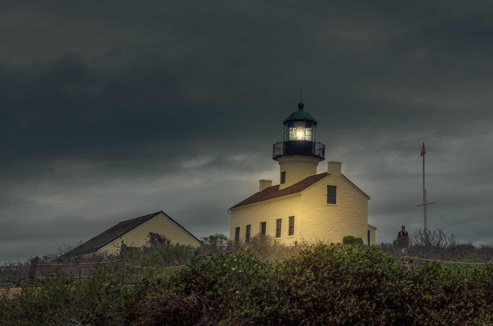 Point Loma Light House  Color