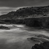 Sunset Cliffs Southern California Black and White