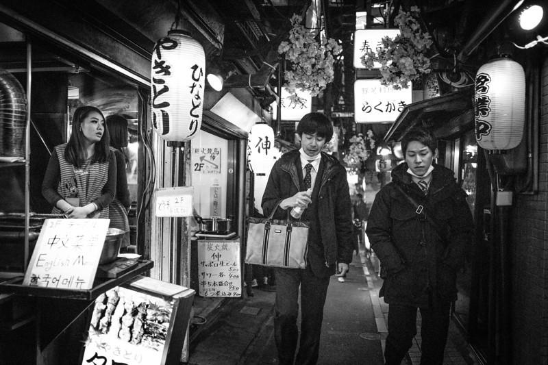 Shinjuku's Omoide Yokocho