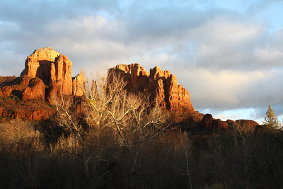 AZ 16 Cathedral Rock at Sunset