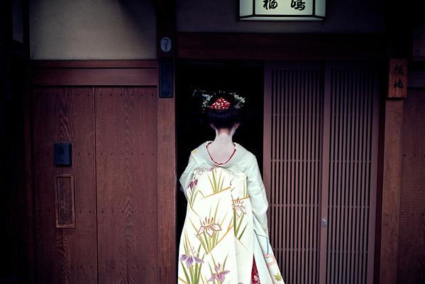 Geisha in Gion