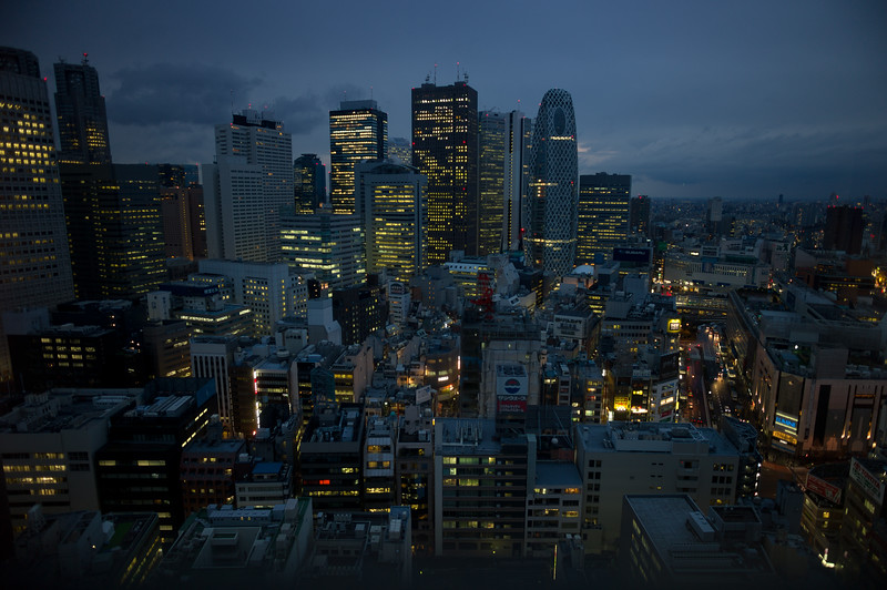 Shinjuku without Neon