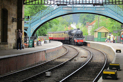 SC 131 Coming into Pickering Station