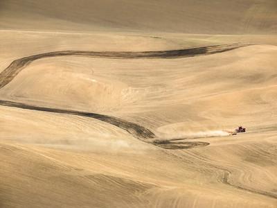Palouse Prairie Plowing