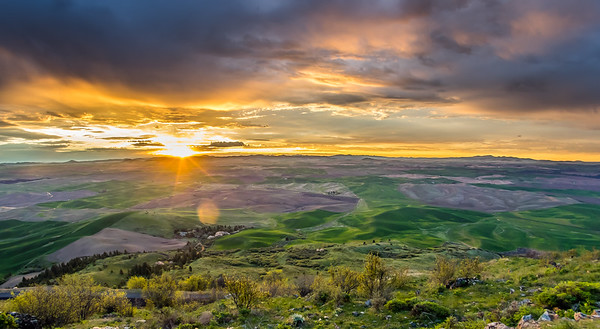 Sunrise, Steptoe Butte