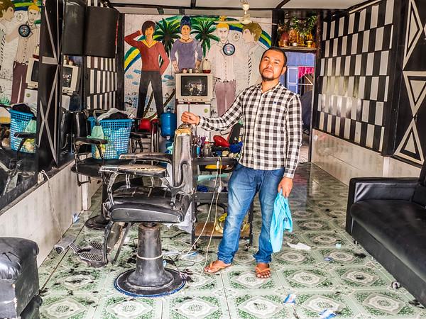 Barbershop, Cambodia
