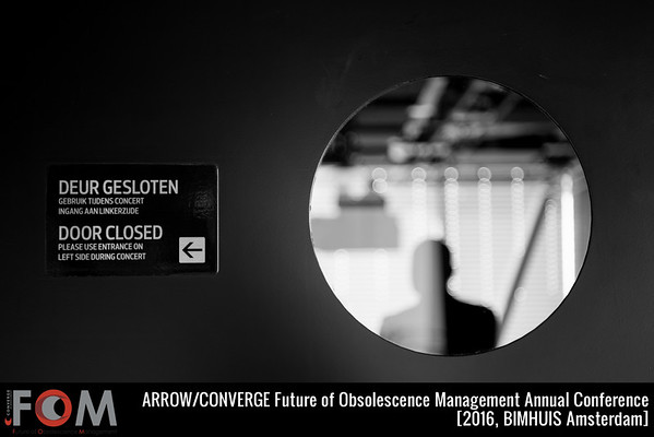 Future of Obsolescence Management (FOM) 2016 by Converge in Bimhuis Amsterdam