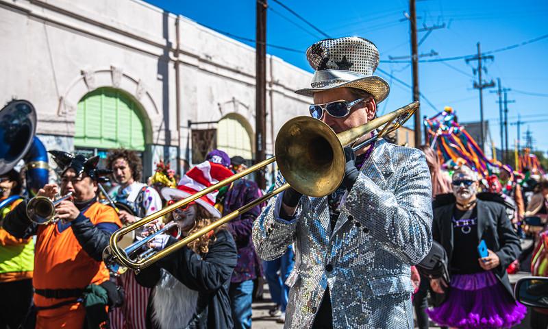 Chartres Street - Mardi Gras