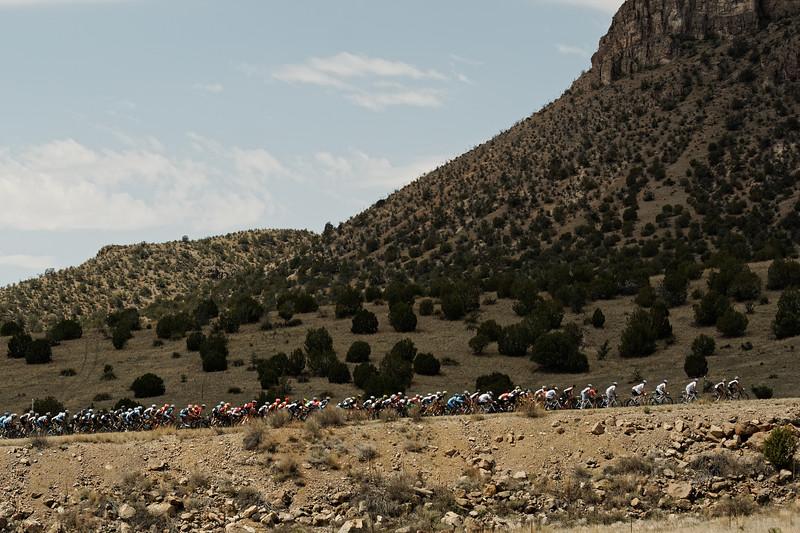 The Tour of the Gila peloton