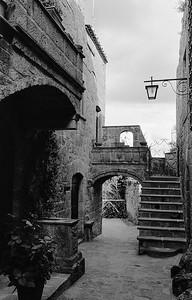 Bagnoregio, an ancient city. Bagnoregio, Italy