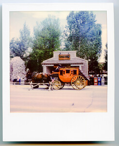 Stagecoach in Jackson, WY