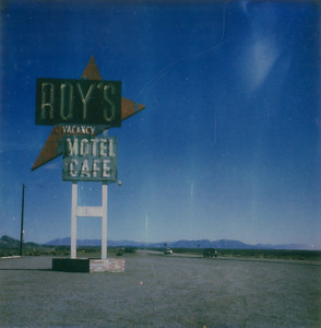 Town of Amboy, Mojave Desert, Route 66, California