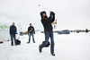 Wayzata, MN - JobNo_1379 - 0411 April 2011 - MNMO Minnesota Monthly: The Chilly Open Golf tournament on Lake Minnetonka in Wayzata - Winter golf, fun and drinking festival, on the ice and snow of the lake. charity event snowy, cold, sports, participants hit tennis balls instead of golf balls. Date: Saturday February 12, 2011 Photo by © GMG/Todd Buchanan 2011 Technical Questions: tbuchanan@greenspring.com; Phone: 612-226-5154. Keywords:  - Folder: MNMO_0411_1379_Winter_Chilly_Open_Golf_Tournament