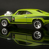 Green Dodge Hot Wheels Car