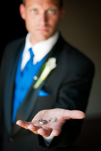 The rings before the big day.
