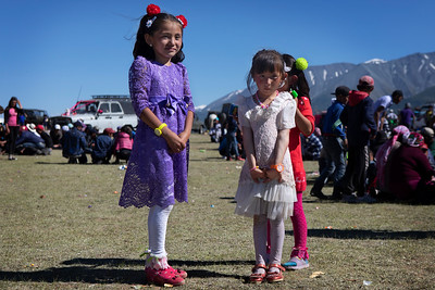 Wedding guests, Mongolia