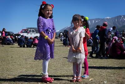 Wedding guests, Mongolia