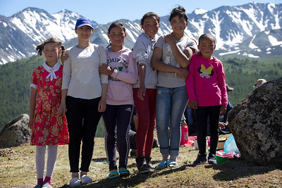 Sisters and cousins, Mongolia