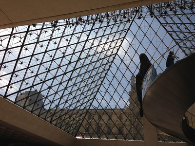 Entrance to the Louvre Museum, Paris, France