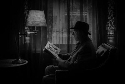 Paul reading
