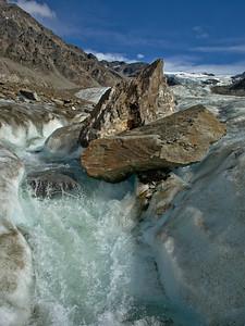 Castner Glacier Stream