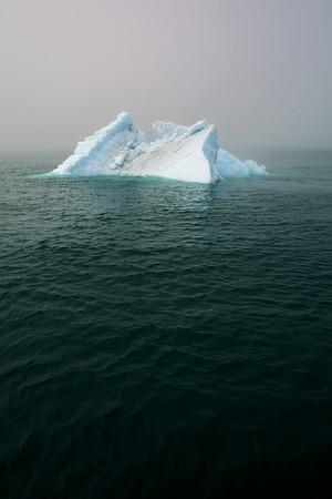 Iceberg in Dark Water