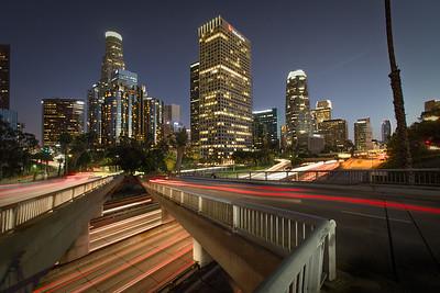 Los Angeles, LA by Night
