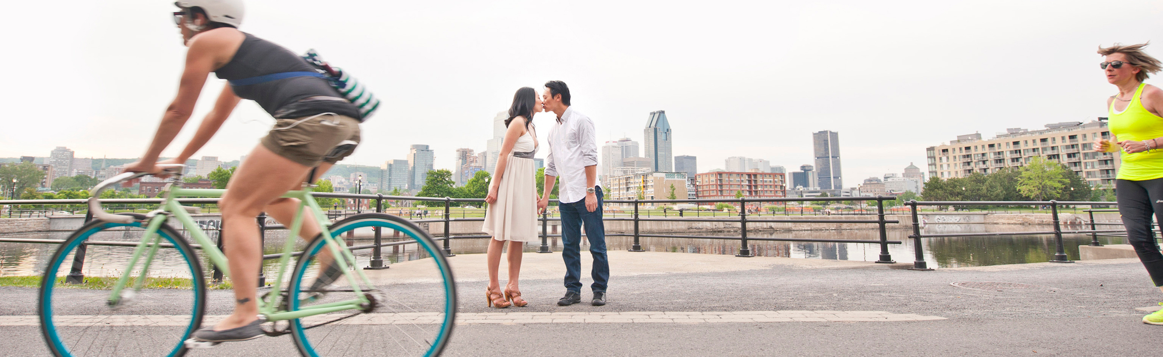 Montreal Wedding And Engagement Photography | Lachine Canal Montreal Quebec