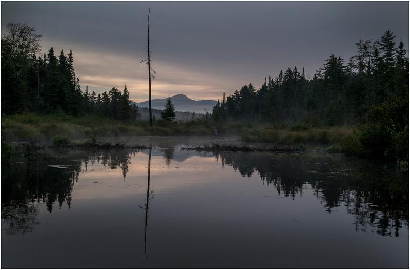 Adirondacks Forked Lake Sunrise North Bay Inlet 7 August 2013