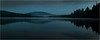 Adirondacks Forked Lake August 2015 First Light with Distant Hill