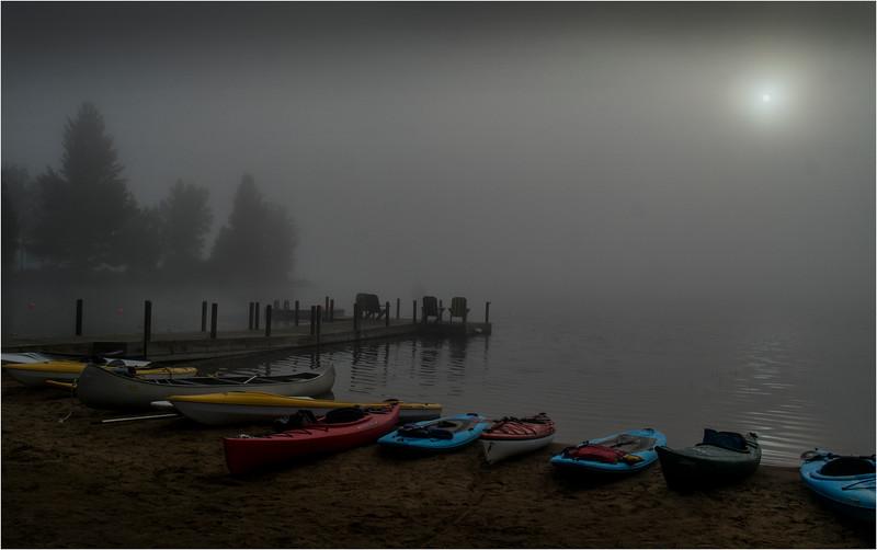 Adirondacks Blue Mountain Lake July 2015 Morning Light Prospect Point Dock 2