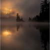 Adirondacks Forked Lake July 2015 Morning Mist Sunrise 20