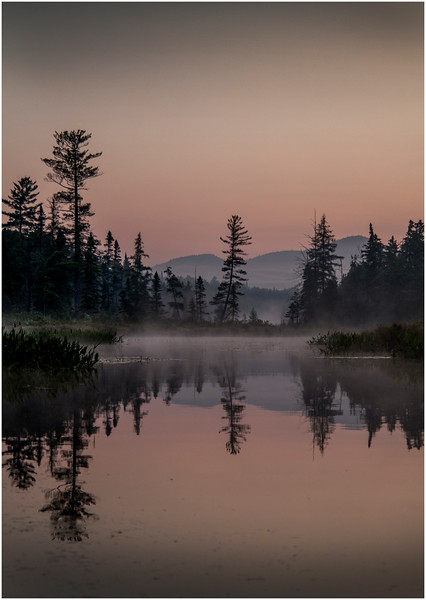 Adirondacks Forked Lake Early Light 6 August 2016