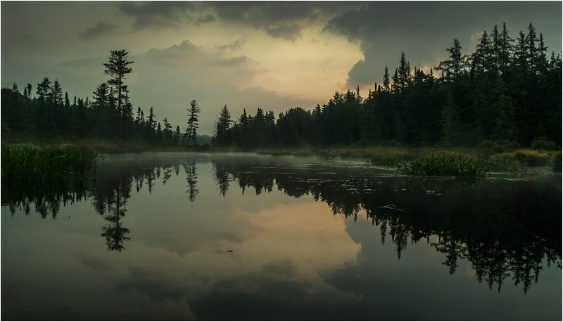 Adirondacks Forked Lake August 2015 North Bay Inlet Before Sunrise 5