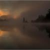 Adirondacks Forked Lake July 2015 Morning Mist Sunrise 3