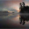 Adirondacks Lake Rondaxe Sunrise 1 July 2016